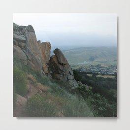 Bishop Peak Metal Print