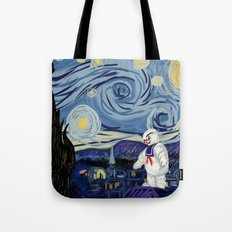 Stay Puff Night Tote Bag