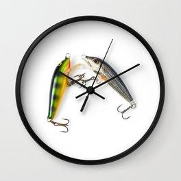 Fishing Tackle 4 Wall Clock