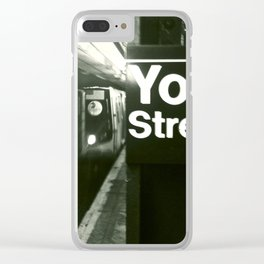 Subway Stories (Pt 11 - New York City) Clear iPhone Case