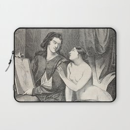 Raphael and the Fornarina Laptop Sleeve