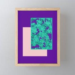 Neon Aeonium #society6 #succulent Framed Mini Art Print