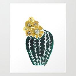Desert Flower 1 Art Print