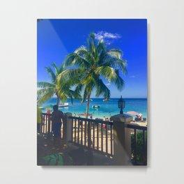 Montego Bay Beach Metal Print