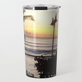 Waikiki Dusk Travel Mug