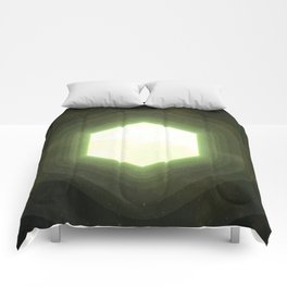 Earth II Hexahedron Comforters