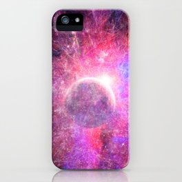 Cyberspace iPhone Case