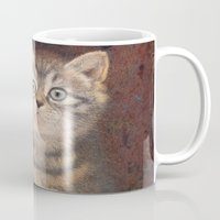 kitty Mugs featuring Kitty by irshi