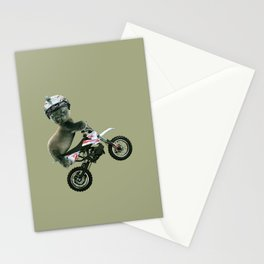 BABY SEAL MOTORCROSS Stationery Cards