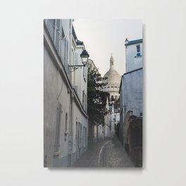 Paris, after the rain Metal Print