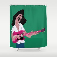 zappa Shower Curtains featuring Frank Zappa – Muther by Daniel J Permutt