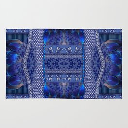 Indigo Fetish Rug