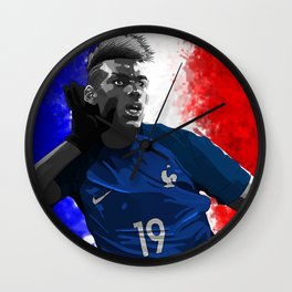 Paul Pogba - France Wall Clock