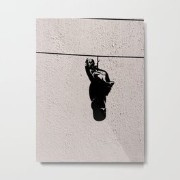 The Shoeline Metal Print