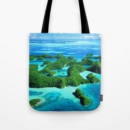Palau Island Paradise Tote Bag