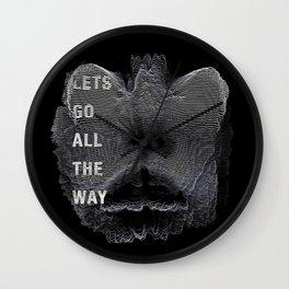 Alien Lover Wall Clock