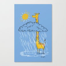 The Perks of Being a Giraffe Canvas Print
