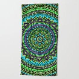 Hippie mandala 44 Beach Towel