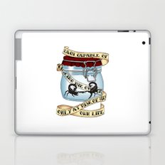 Father of the atom bomb Laptop & iPad Skin