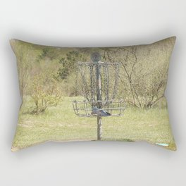 Brown Park Disc Golf Course Rectangular Pillow