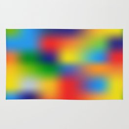Abstract Colorful illustration Rug