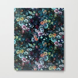 Night Garden Metal Print