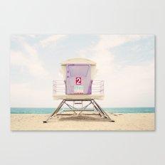 Lifeguard Tower 2  Canvas Print