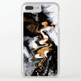 Star dust Clear iPhone Case