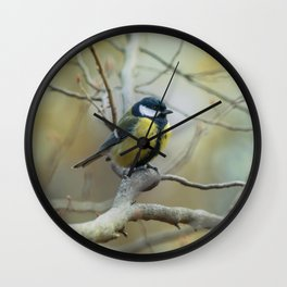 Waiting on the branch Wall Clock