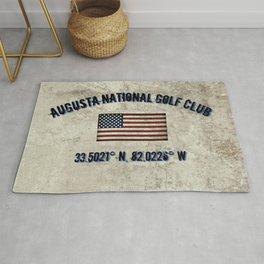 Augusta National Golf Club, Coordinates Rug