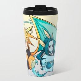 Dragonite and Vaporeon Travel Mug