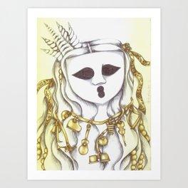 The Ghostesses Of Caprice Art Print #3 Art Print
