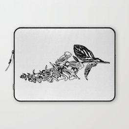 wild flower: digitalis purpurea Laptop Sleeve
