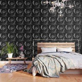 Shining Silver Corded Fractal Bangles Wallpaper