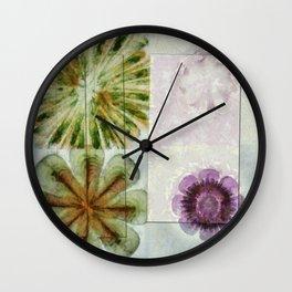 Essive Truth Flowers  ID:16165-132545-22351 Wall Clock