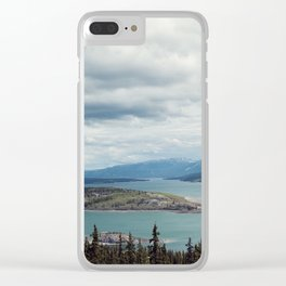 Bove Island Tagish Lake Clear iPhone Case