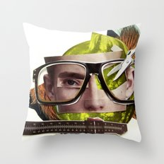 Make me perfect | Collage Throw Pillow