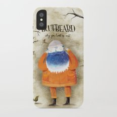 Bluebeard iPhone X Slim Case