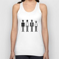 talking heads Tank Tops featuring Talking Heads by Band Land