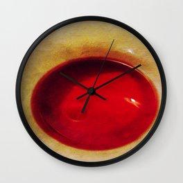 Rims #3 (Rising Sun) Wall Clock