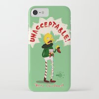 lemongrab iPhone & iPod Cases featuring UNACCEPTABLE by Vagalumie