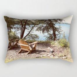 Front Row Seats at the Lake Rectangular Pillow