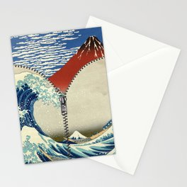 Mt. Fuji and the Wave Stationery Cards