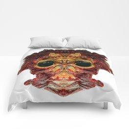 Halloween Mask 0214 Comforters