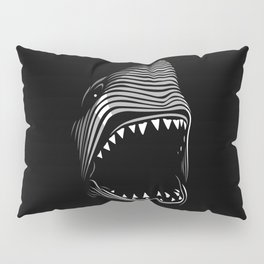Great Shark Lines Pillow Sham