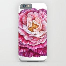 Watercolor flower  iPhone Case