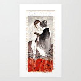 Alina & the Darkling Art Print