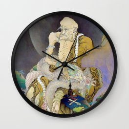 Kano Hogai - Top Quality Art - Fukuryurakanzu Wall Clock