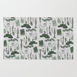 snake house magic school witches and wizards Rug
