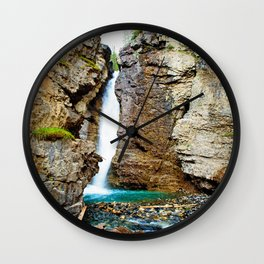 Johnston Canyon Wall Clock